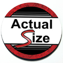 Actual Size Magnetic Grill Badge Circular Magnet for MINI Cooper