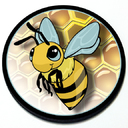 Bee - Grill Badge