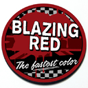 Blazing Red - Grill Badge