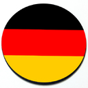 German Flag - Magnetic Grill Badge for MINI Cooper