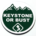 Keystone or Bust Badge for MINI Takes the States 2018