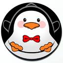 Penguin - Cute Magnetic Grill Badge for MINI Cooper