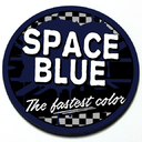 Space Blue - Grill Badge