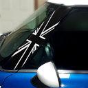 Pillar Decals (R50, R52, R53) Black Jack Front - 1st Generation Hardtop MINI Cooper - Set of 2
