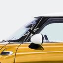 Pillar Decals (F56) Black Jack Front - 3rd Generation Hardtop MINI Cooper - Set of 2
