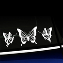 Butterfly Trio Decal