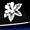 Columbine Flower Decal