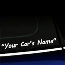 Custom Decal - Your Car's Name