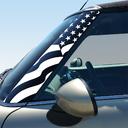 Pillar Decals (R56, R57, R55) US Flag Front - 2nd Generation Hardtop MINI Cooper - Set of 2
