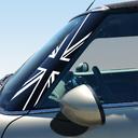 Pillar Decals (R56, R57, R55) Black Jack Front - 2nd Generation Hardtop MINI Cooper - Set of 2