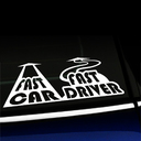 Fast car Fast driver - Decal