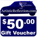 50 Dollar Gift Voucher