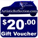20 Dollar Gift Voucher
