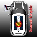 Colorado Flag Sunroof Graphic for MINI Cooper R50, R53, R56, R55, R60, R61, F56