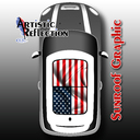 US Flag Sunroof Graphic for MINI Cooper R50, R53, R56, R55, R60, R61, F56
