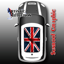 Union Jack Sunroof Graphic for MINI Cooper R50, R53, R56, R55, R60, R61, F56