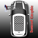 Checkered Sunroof Graphic for MINI Cooper R50, R53, R56, R55, R60, R61