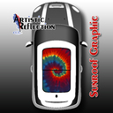 Tie Dye Sunroof Graphic for MINI Cooper R50, R53, R56, R55, R60, R61, F56