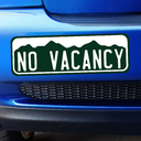 Colorado No Vacancy Bumper Sticker