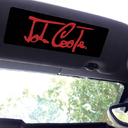 Visor sticker Set - Large - John Cooper Signature