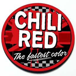 Chili Red - Grill Badge