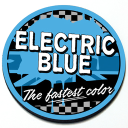 Electric Blue - Grill Badge