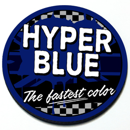 Hyper Blue - Grill Badge