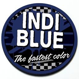 Indi Blue - Grill Badge