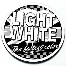 Light White - Grill Badge