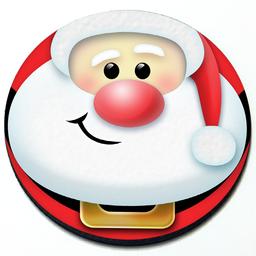 Santa Claus - Magnetic Grill Badge for MINI Cooper