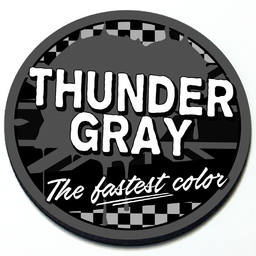 Thunder Gray - Grill Badge