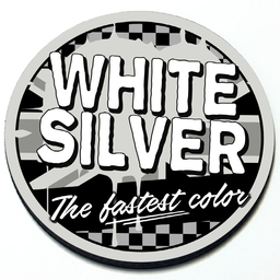 White Silver - Grill Badge