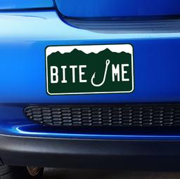 Small Colorado Bite Me Bumper Sticker