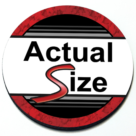 Actual Size - Grill Badge for MINI Cooper Product Page