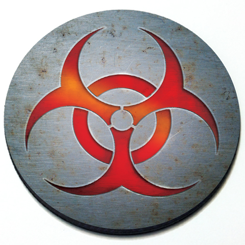 Biohazard - Grill Badge for MINI Cooper Product Page