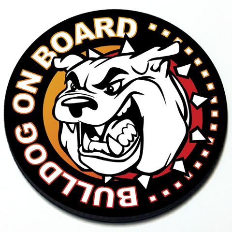 Bulldog on Board - Grill Badge for MINI Cooper Product Page