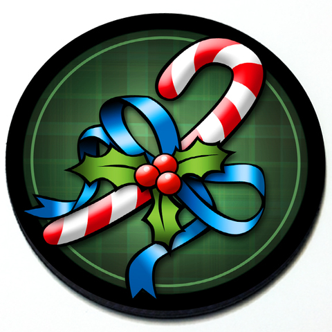 Candy Cane - Magnetic Grill Badge for MINI Cooper Product Page