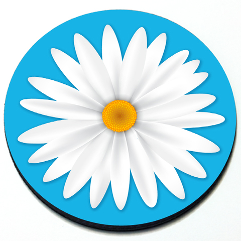Daisy - Magnetic Grill Badge Product Page
