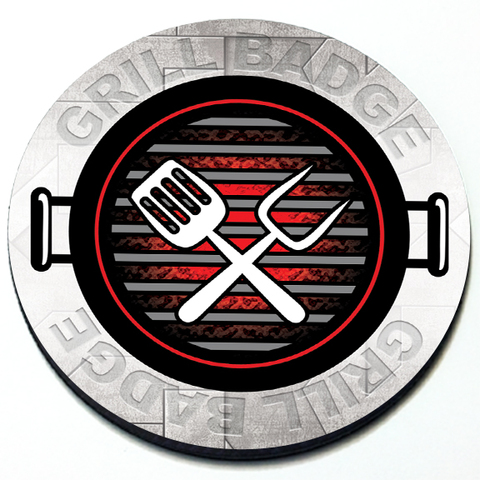 Grill Grill Badge Product Page