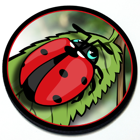 Ladybug - Grill Badge Product Page