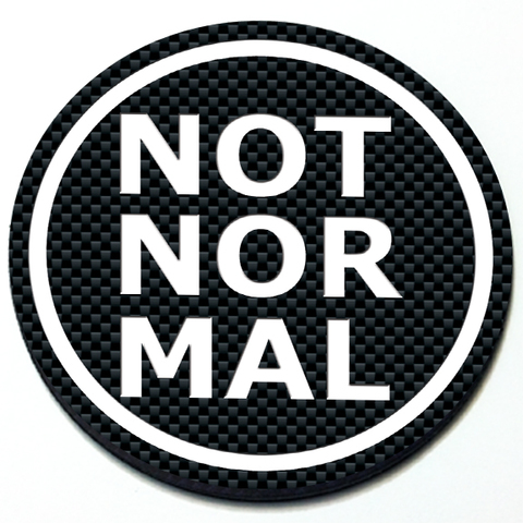 Not Normal - Grill Badge for MINI Cooper Product Page