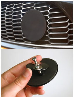 1 MINI Cooper Grill Badge Holder Product Page