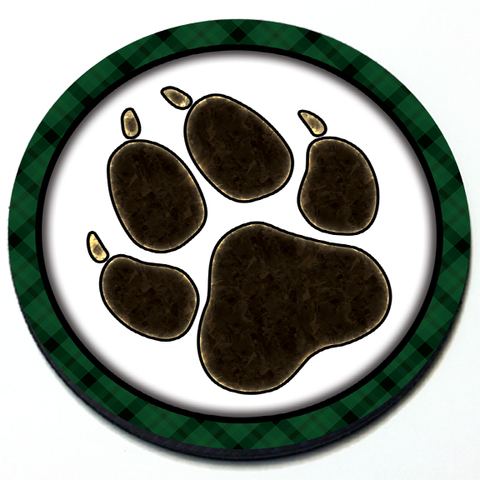 Paw Print - Grill Badge for MINI Cooper Product Page