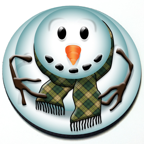 Snowman - Grill Badge Product Page
