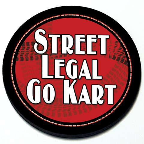 Street Legal Go Kart Grill Badge for MINI Cooper Product Page