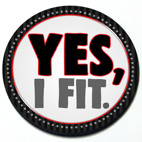 Yes I Fit - Grill Badge Product Page