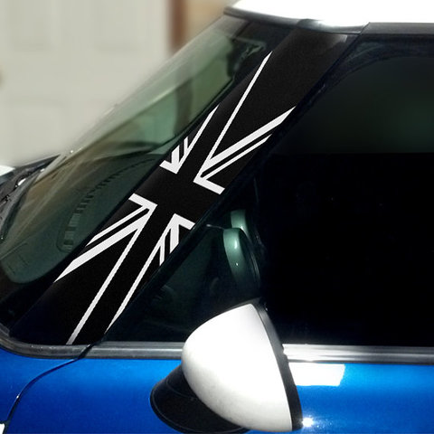 Black Jack Vinyl Pillar Decals for 1st Generation MINI Cooper - Set of 2 Product Page