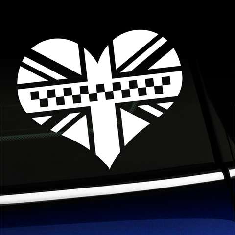 Black Jack Heart Decal Product Page