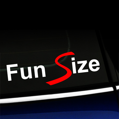 Fun Size - MINI Cooper Vinyl Decal Product Page