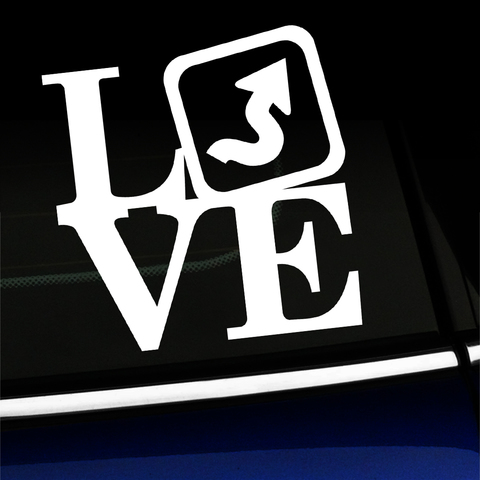 LOVE Twisties - Decal for MINI Cooper Product Page